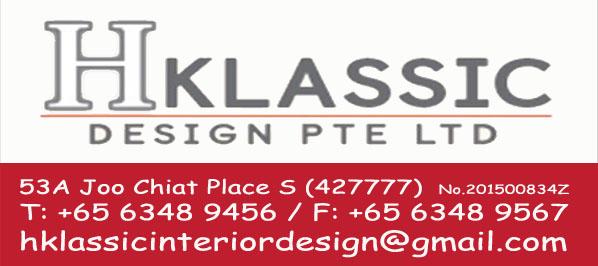 H Klassic Design Pte Ltd Singapore Singapore Contact Phone Address